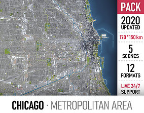 3D model Chicago Metropolitan