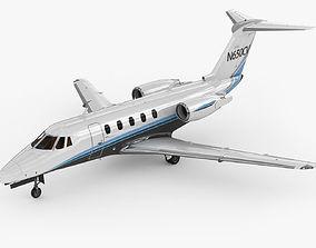 3D Cessna 650 Citation