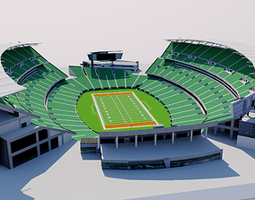 3D model Paul Brown Stadium - Cincinnati USA
