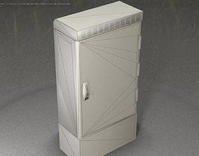 3D model Electrical Distribution Cabinet 24