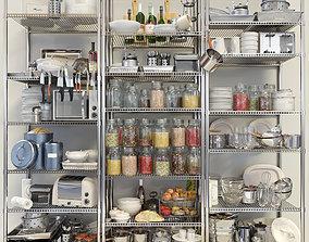 Kitchen trifle set 4 3D