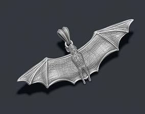 Bat pendant 3D print model