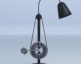 Bike Pedal Desk Lamp 3D model