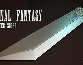 Final Fantasy - Buster Sword 3D model