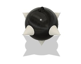 Morning Star Ball 3D print model