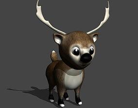 Reindeer Toon 3D print model