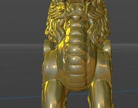 3D model China Unicorn Ancient Mythical Animals