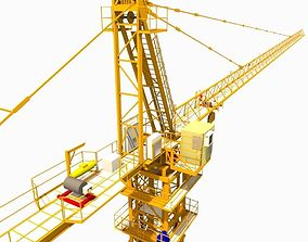 3D asset construction crane