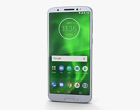 Motorola Moto G6 Silver 3D
