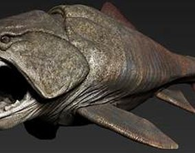 3D model dunkleosteus