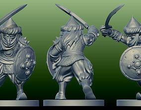 Goblin orc 3D printable model