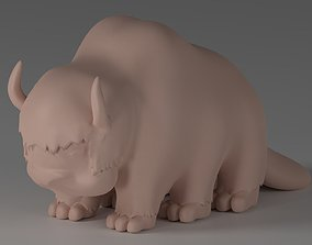 Appa Flying Bison 3D printable model