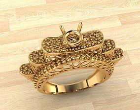 RING 20 fashion-ring 3D printable model
