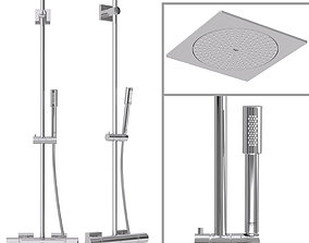 3D Shower System Grohe Rainshower F-Series System 254