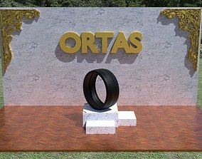 ORTAS TIRE PACK 6 INCLUDING 5 GAME READY 3D asset