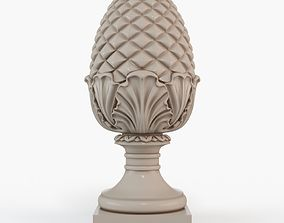 Pinecone Corbel 3D print model