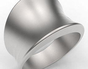 Tapering Concave Band 3D print model