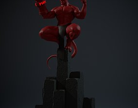 HellBoy characters 3D print model