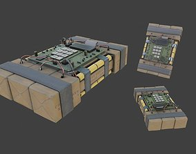 Improvised Detonation Charge C4 3D model