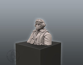 3D printable model Pilot Bust