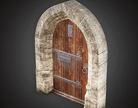 gate Door - MVL - PBR Game Ready 3D asset game-ready