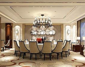 3D Business Restaurant - Coffee - Banquet 67