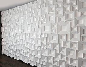 3D model Wall Panel Set 27