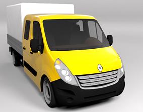 RENAULT TRAFFIC 2015 LOWPOLY 3D model