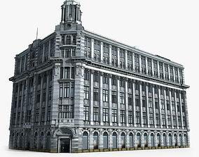 European Building 3D model residential