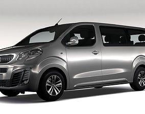 3D model Peugeot Traveller L3 2017