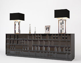 3D Fendi Madia Cabinet Carat