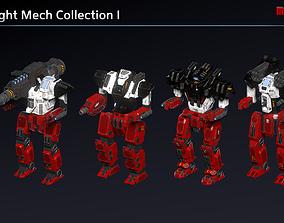 3D model Light Mechs Collection I