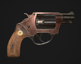 Charter Arms Undercoverette 32 Revolver Low-poly 3D asset