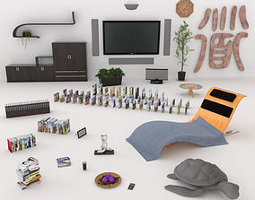 3D Interior Props Collection 1