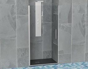 Shower Stall shower 3D model