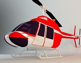 chopper Helicopter 3D model