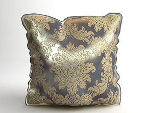 3D Brocade Decorative Pillow Photoreal