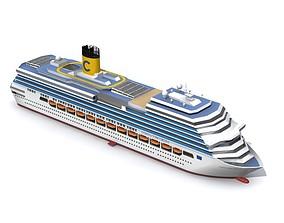 Costa Concordia 3D