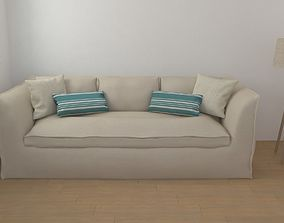 3D Country Sofa