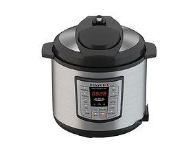 Instant Pot Electric Pressure Cooker 6 Quart 3D model 2