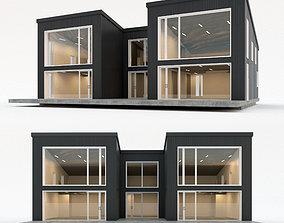 3D asset Villa house 11