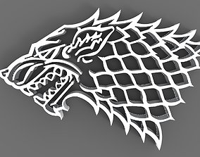 3D model Game of thrones Logo