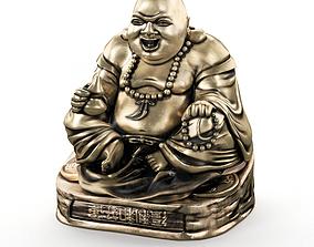 3D figurine Laughing buddha
