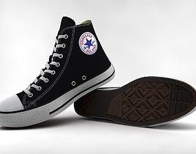 3D model Casual Shoes Chuck Taylor Hi