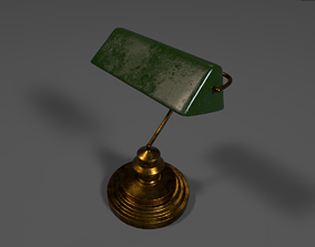 table-lamp 3D model Old lamp