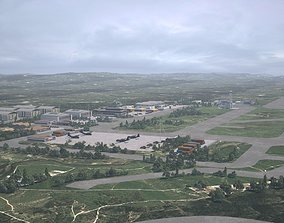 3D airfield airbase airport facility
