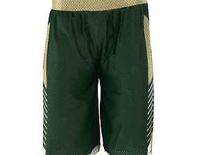 3D model Basketball Jersey Shorts