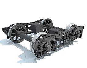 Train Wheels 3D model