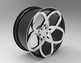 designrim 3D model Car Rim