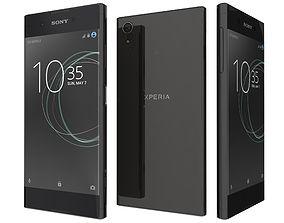 3D model Sony Xperia XA1 Plus Black